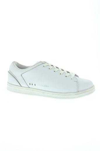 eleven paris chaussures homme de couleur blanc