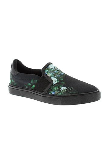 eleven paris chaussures garçon de couleur noir