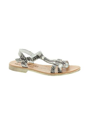 bellamy sandales et nu et pieds fille de couleur beige