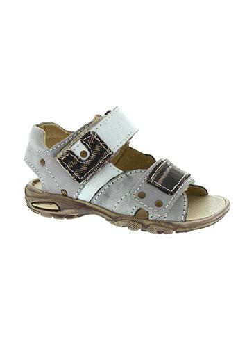 bellamy sandales et nu et pieds garcon de couleur gris