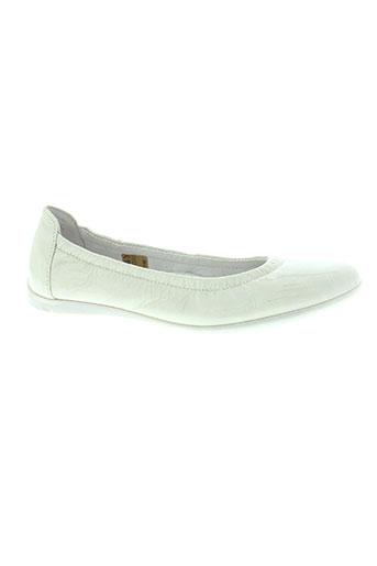 ramdam chaussures fille de couleur blanc