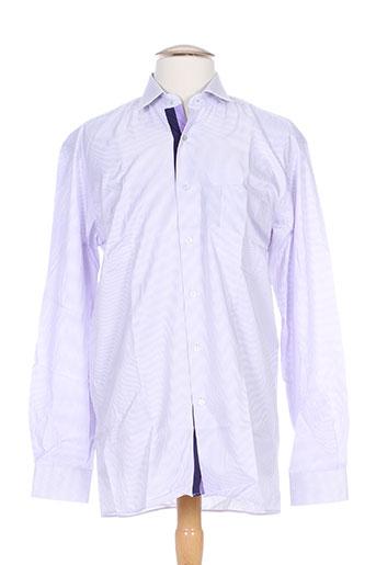 horizon chemises homme de couleur violet