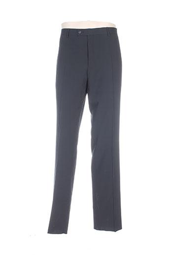 hafnium pantalons homme de couleur noir