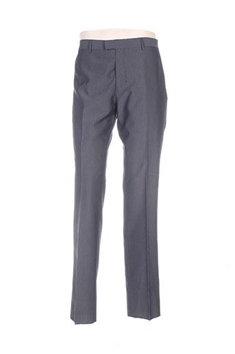 hafnium pantalons homme de couleur gris
