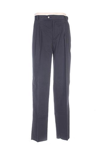 john stevens pantalons homme de couleur bleu