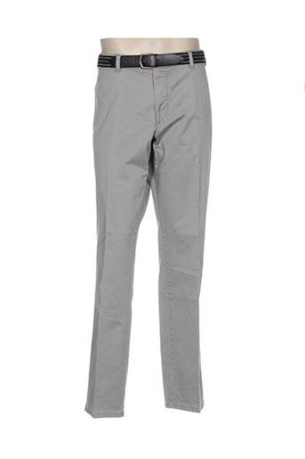 modexal pantalons homme de couleur gris