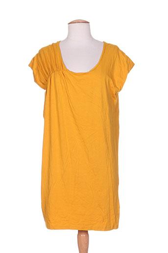 ichi t-shirts / tops femme de couleur jaune