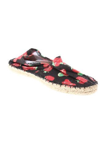 full-up chaussures femme de couleur noir