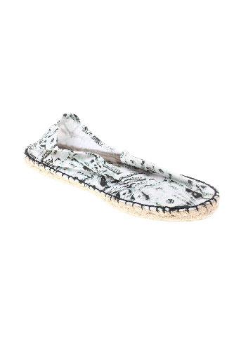 full-up chaussures homme de couleur blanc
