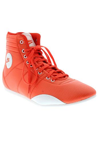 nike chaussures femme de couleur orange