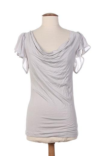 arti maglia chemises femme de couleur gris