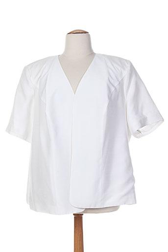 jean biolay vestes femme de couleur blanc