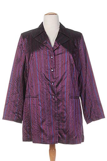 wns vestes femme de couleur violet