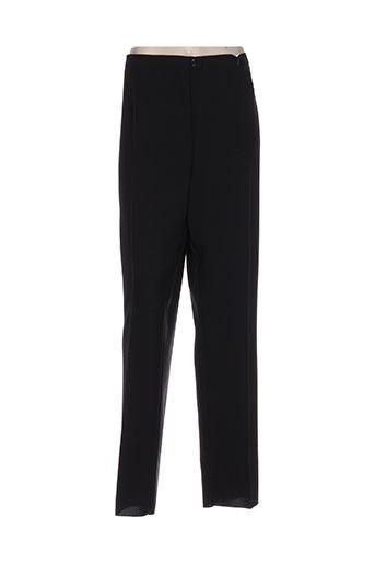 couleurs du temps pantalons femme de couleur noir