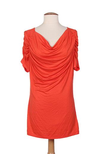 fuego woman t-shirts femme de couleur orange