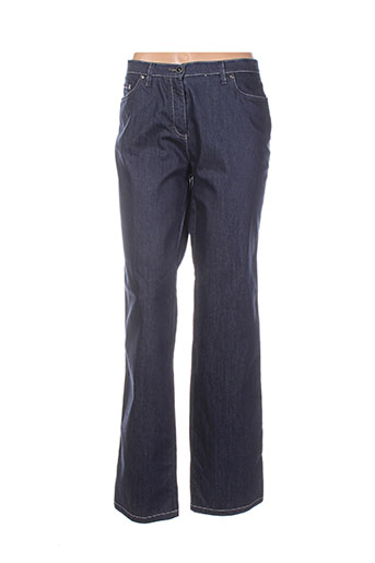 claudia gil jeans femme de couleur bleu