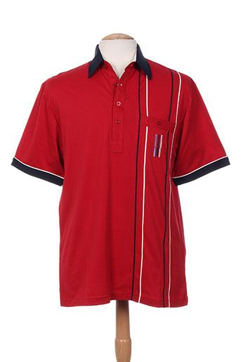 gabicci t-shirts homme de couleur rouge