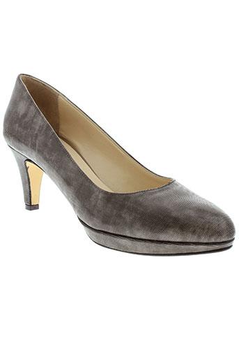 frenesia chaussures femme de couleur marron