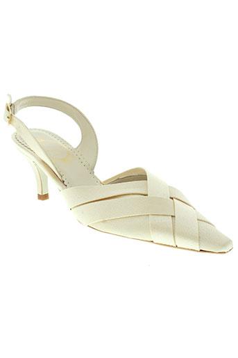 marian chaussures femme de couleur beige