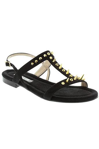 albano chaussures femme de couleur noir