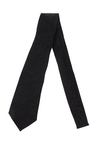 carlo et pignatelli cravates homme de couleur noir