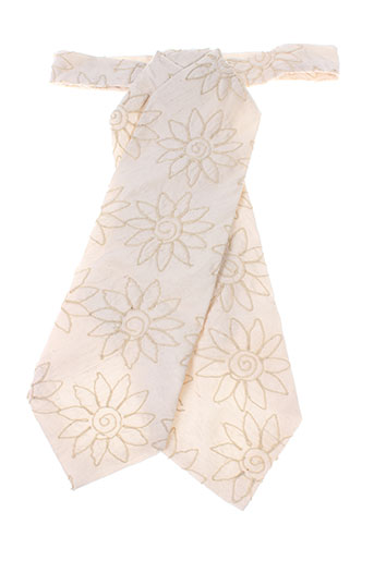 Cravate beige CANOTIER pour homme