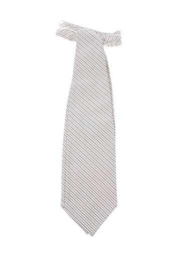 Cravate blanc CARLO PIGNATELLI pour homme