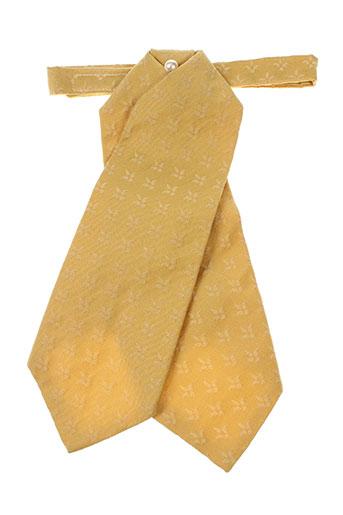 Cravate jaune CANOTIER pour homme