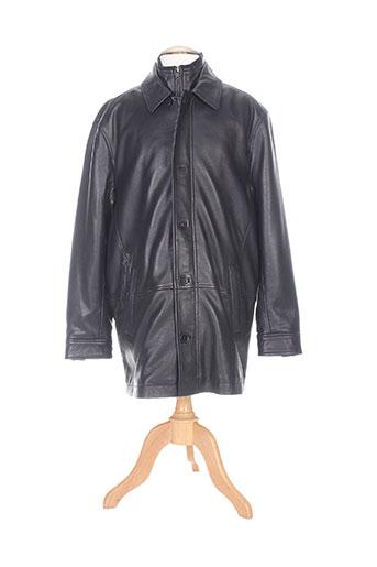 m.e.n.s manteaux homme de couleur noir