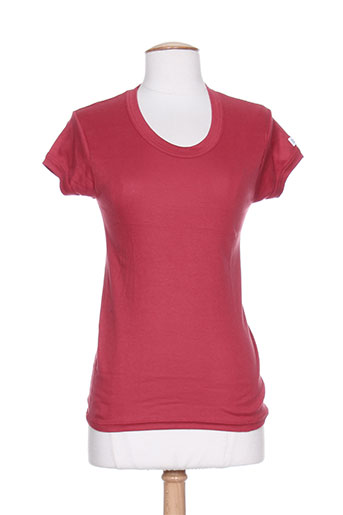 chandail express t-shirts femme de couleur rouge