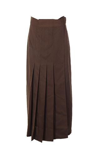 astuces jupes femme de couleur marron