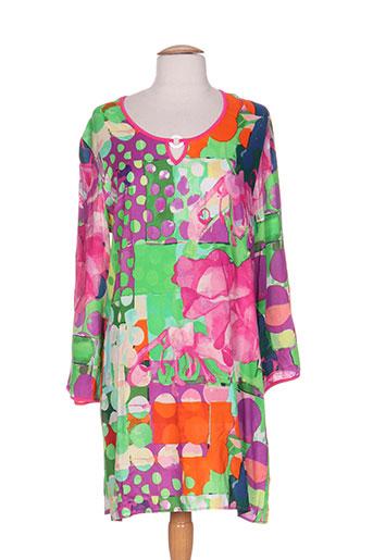 cherie et line chemises et de et nuit femme de couleur vert