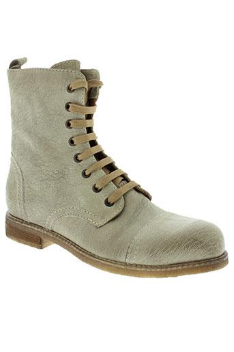 firenze boots femme de couleur beige