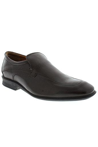 ecoflex chaussures homme de couleur marron