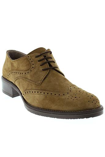 memphis chaussures homme de couleur marron