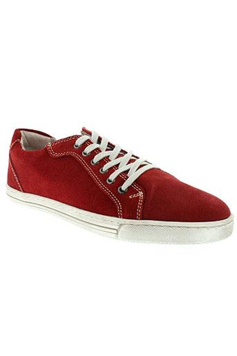 s&g chaussures homme de couleur rouge