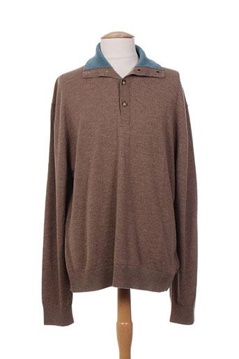 kenzo pulls homme de couleur marron