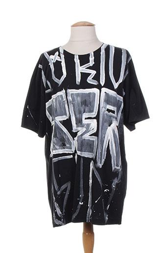 T-shirt manches courtes noir FAITH CONNEXIONS pour homme