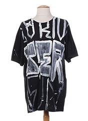 T-shirt manches courtes noir FAITH CONNEXIONS pour homme seconde vue