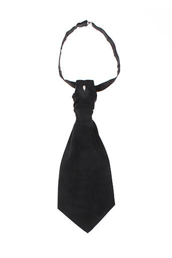 Cravate noir FACIS pour homme