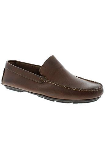 walking chaussures homme de couleur marron