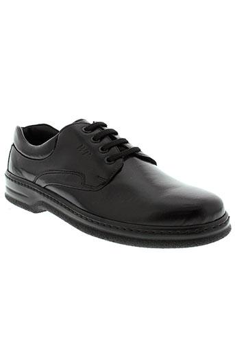walker flex chaussures homme de couleur noir