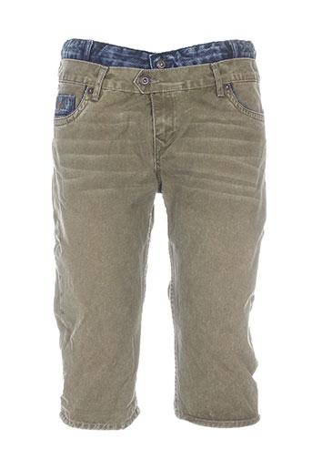kaporal shorts / bermudas garçon de couleur vert