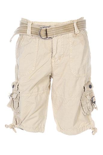 deeluxe shorts / bermudas garçon de couleur beige