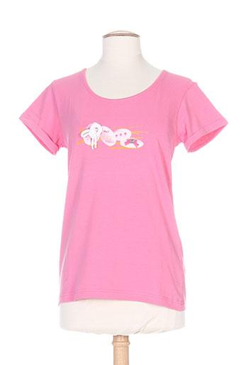 bleu salé t-shirts / tops femme de couleur rose