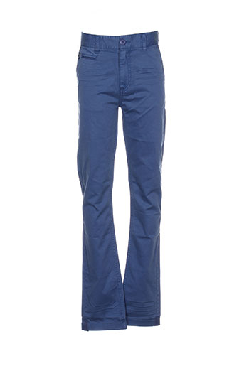 kaporal pantalons garçon de couleur bleu