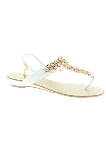 laura biagiotti chaussures femme de couleur blanc