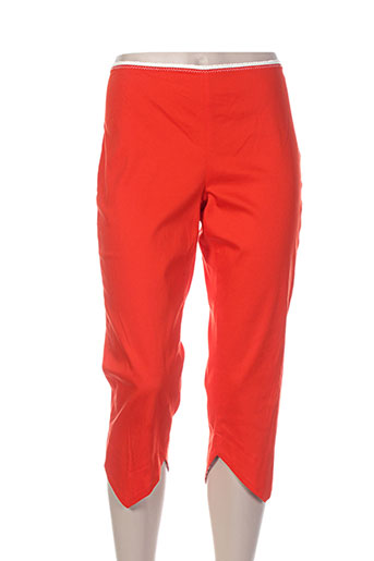 lo! les filles pantacourts femme de couleur orange