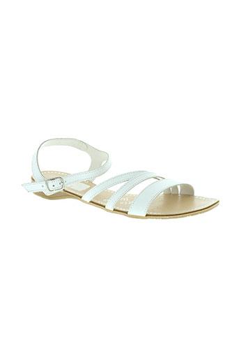 vachon chaussures femme de couleur blanc