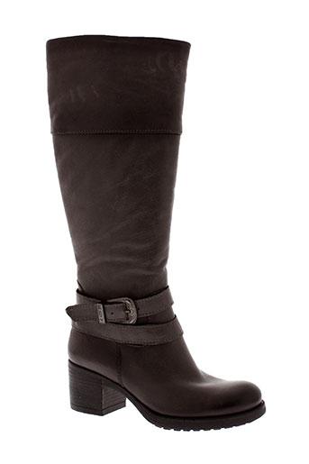 firenze bottes femme de couleur gris
